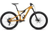 "Specialized stumpjumper comp carbon 27,5"" orange svart 2018"